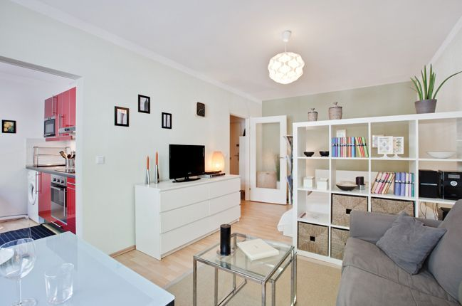 wohn schlafzimmer living bedroom studio apartment design ideas pinterest wohnungen und kleine wohnungen - Wohn Und Schlafzimmer