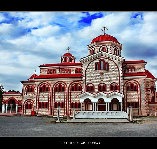 Greek-Orthodox Church  in Esslingen am Neckar, Germany..largest Orthodox church in Europe outside of Greece.