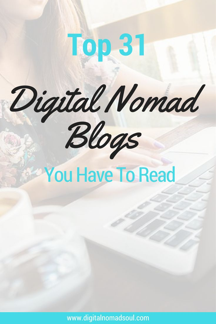 You want to learn more about being a digital nomad and want to find out how to be successful with remote work? Check out these great blogs: