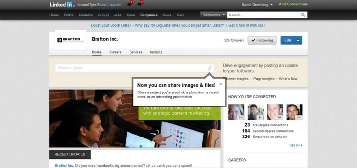 LinkedIn Now Lets Brands Share More Types of Custom Content
