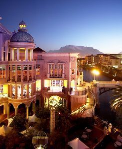 Canal Walk shopping center - Century City - Cape Town - second biggest mall in South Africa.