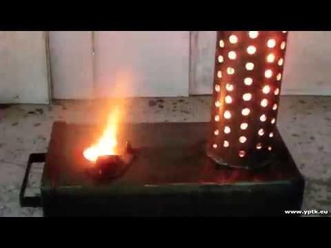 Russian waste oil burner for shop or garage ~ NO DRIP