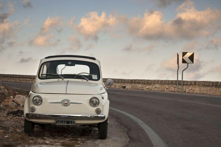 Fiat 500 Salento #TuscanyAgriturismoGiratola