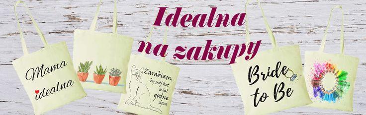 Torba idealna na zakupy   Stwórz swoją własną torbę lub wybierz z oferty naszego sklepu internetowego www.zimmo.pl