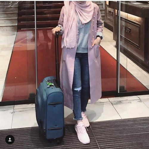 Pinky summer hijab style – Just Trendy Girls