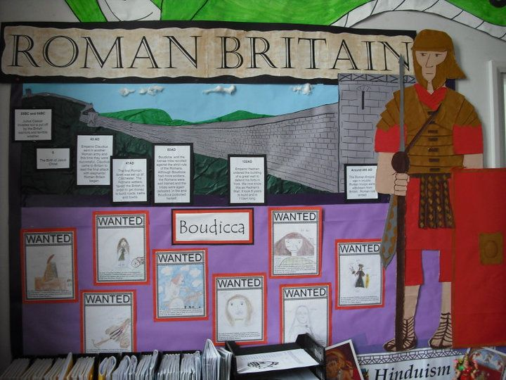 Romans display - ks2