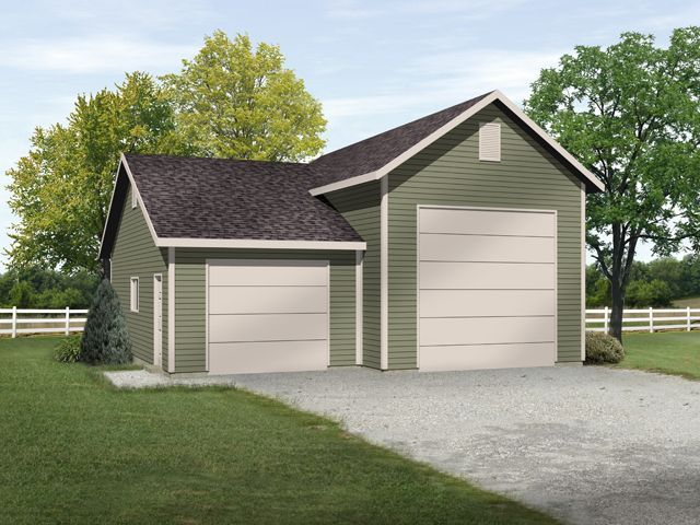 1000 images about rv garage plans on pinterest rv for 2 bay garage