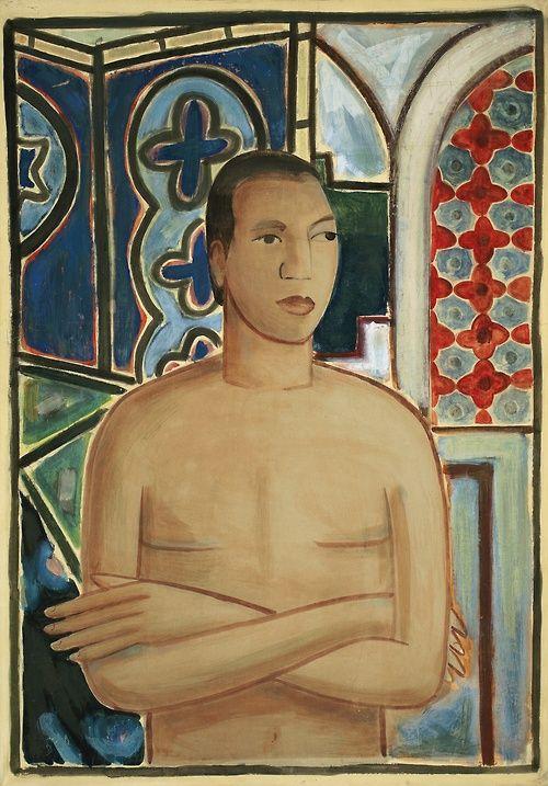 WILFREDO LAM Self-Portrait II (c.1938):