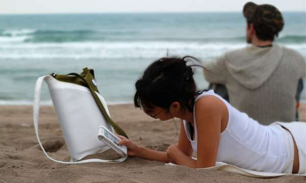 The Audio Wrap Makes it Easy to Bump Your Tunes at the Beach #tech trendhunter.com
