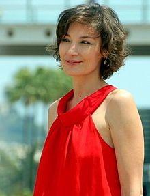 Jeanne Balibar, un chanteur français.