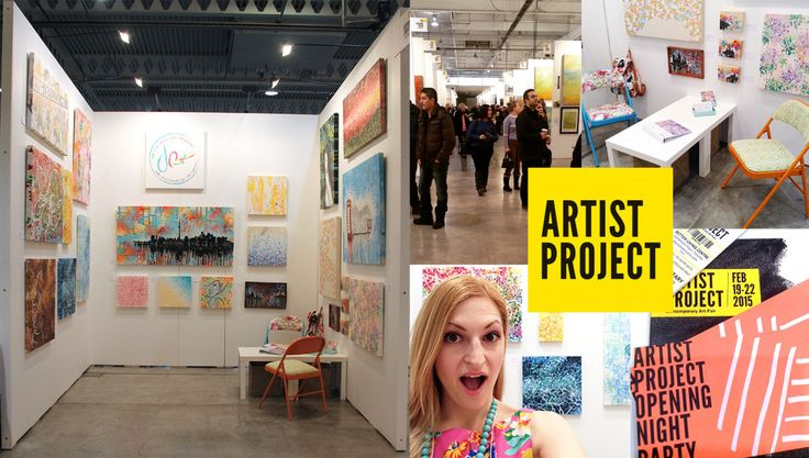 Amazing Weekend at Artist Project 2015 || Booth 941 || Be Colourful. Be Original. Be Adventurous. Be Happy. || Josephine Condotta
