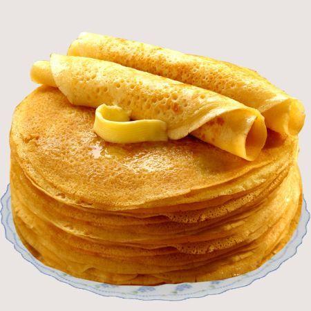 Pancakes from oatmeal (Блины из овсяной муки)
