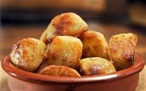 British style Roast Potatoes-My favorite side dish for the Holidays