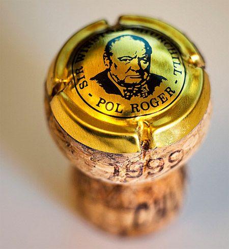 The 1999 Cuvée Sir Winston Churchill...