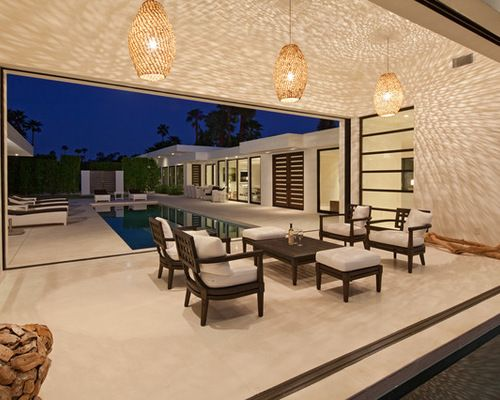 U-Shaped House Home Design Ideas, Pictures, Remodel and Decor