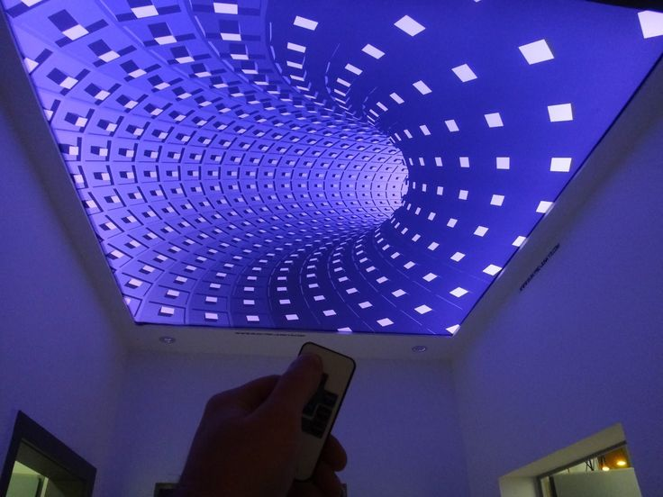 checkout our AMAZING Stretch Ceiling DIY how to make your own Stretch Ceiling by elektric-junkys.com