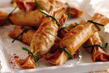 Mushroom filo crackers – Recipes – Slimming World