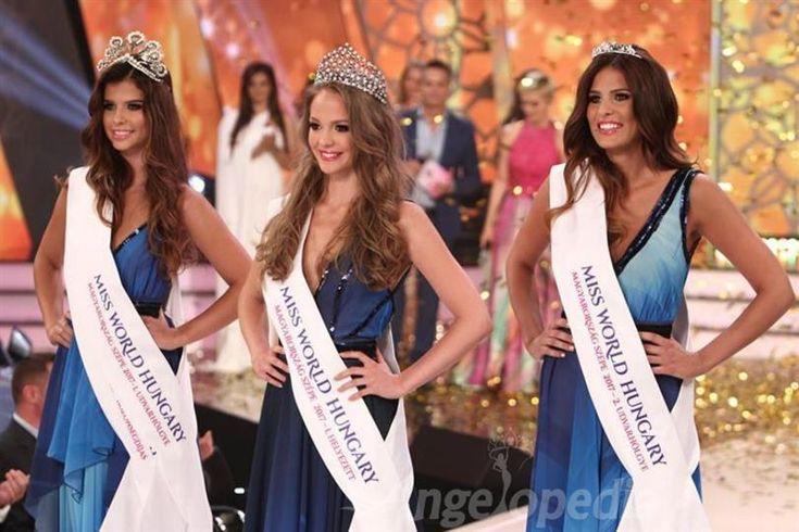 Virag Koroknyai crowned as Miss World Hungary 2017