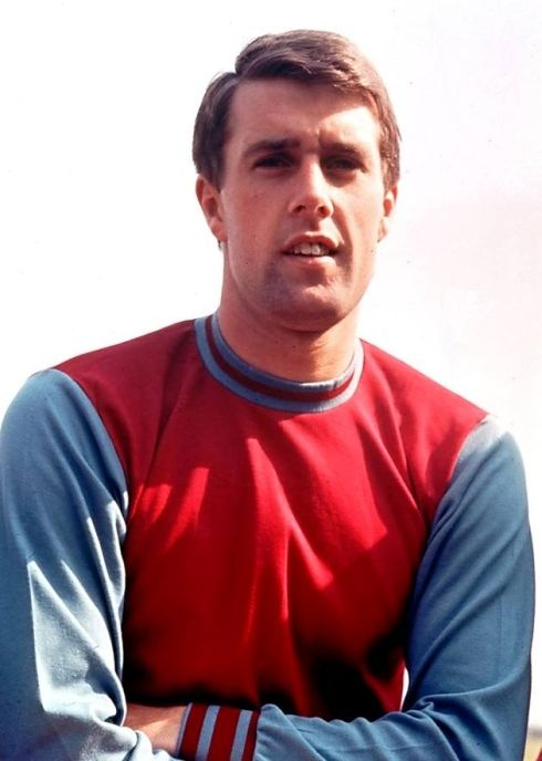 Geoff Hurst - World Cup 1966 hero with hat-trick in final.