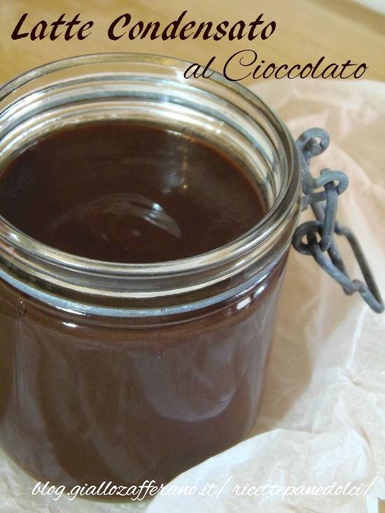 Latte condensato al cioccolato-ricetta