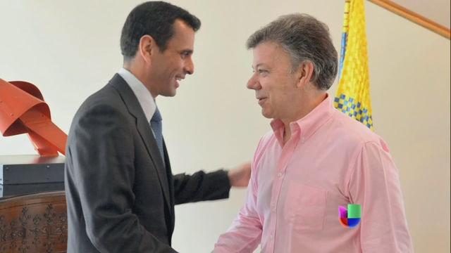 VIDEO: A prueba los vínculos entre Venezuela y Colombia - http://uptotheminutenews.net/2013/06/12/latin-america/video-a-prueba-los-vinculos-entre-venezuela-y-colombia/