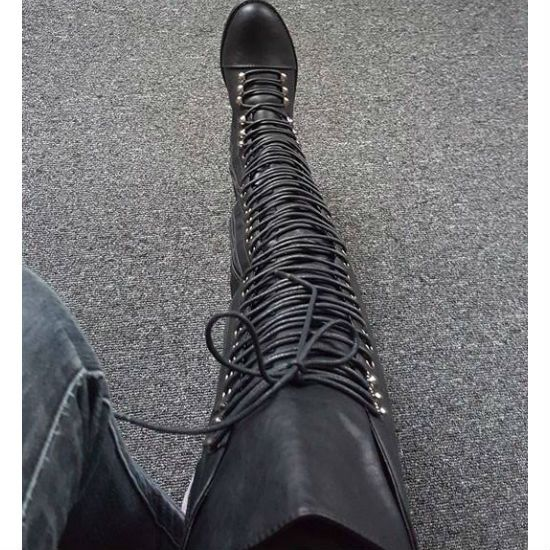 25 best ideas about thigh high combat boots on