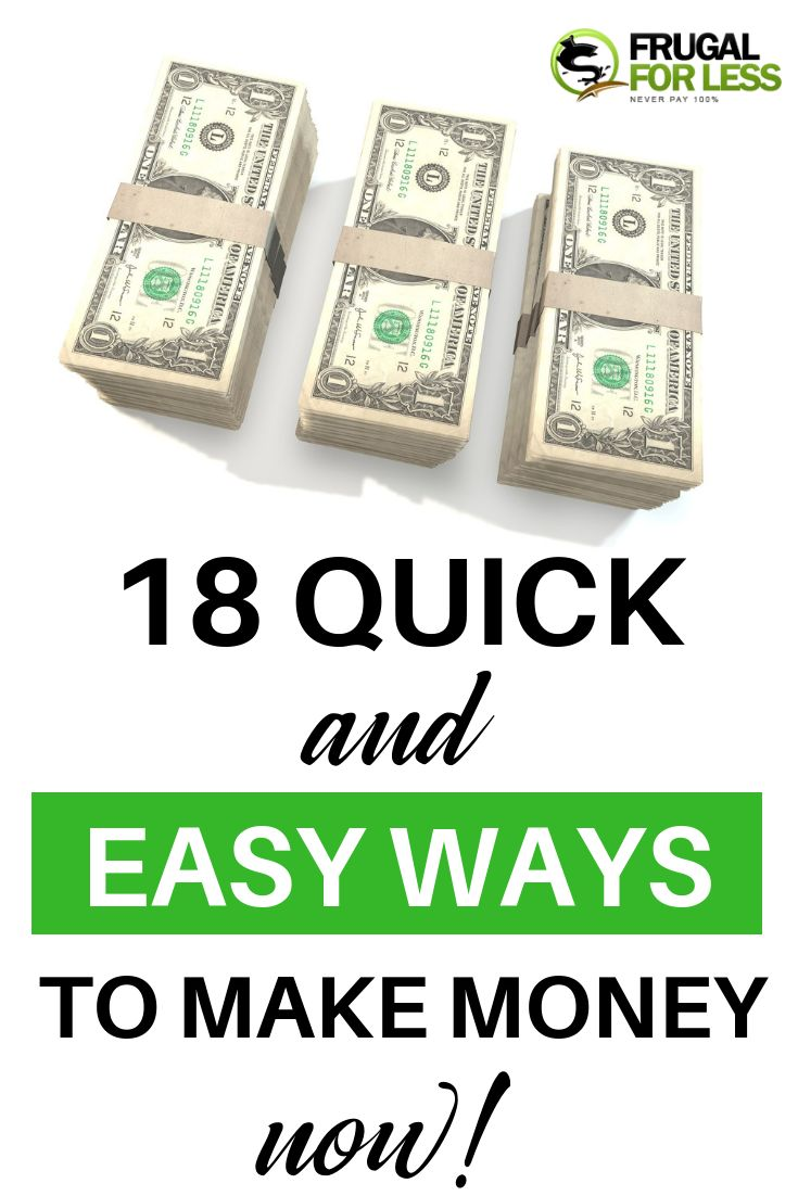 Quick And Easy Ways To Make Money – How To Make Quick Money