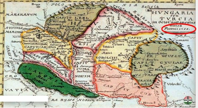 Megdöbbentő 1.300 éves térkép került elő. Már az úgynevezett honfoglalás előtt a Kárpát-Medencében voltunk – Friss Hírek
