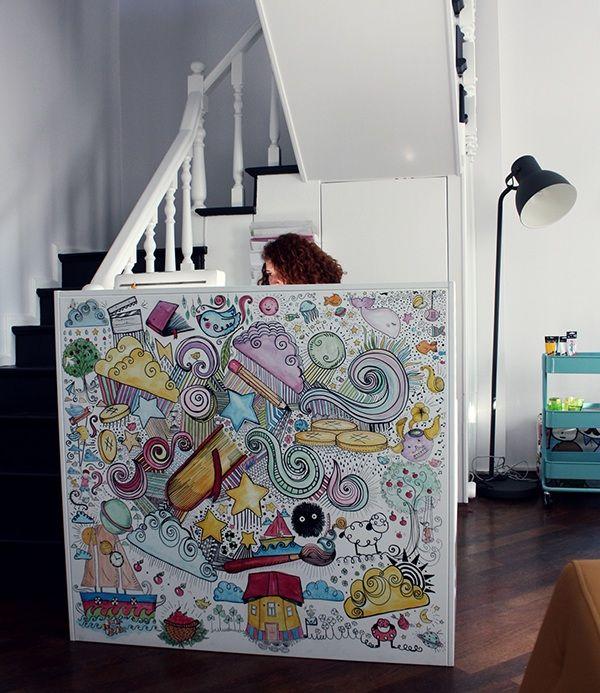 Çocuklar - Duvar Çizimleri