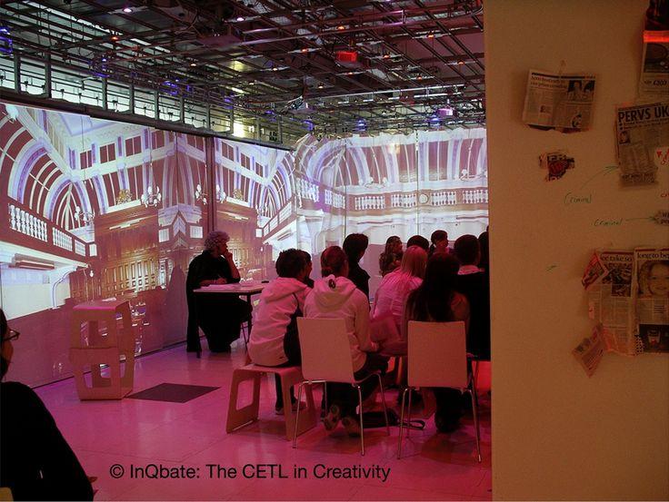 Courtroom InQbate CETL In Creativity University Of Sussex