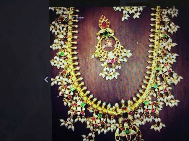 Elegant Guttapusalu Sets | Buy Online jewelry At low Price | Elegant Fashion Wear