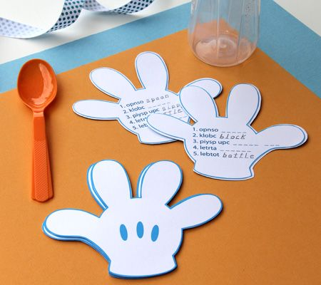 9 best baby shower ideas images on pinterest disney baby showers hands down game deciphering the clues printed on mickeys glove is the aim of this mickey mouse baby showerbaby solutioingenieria Gallery