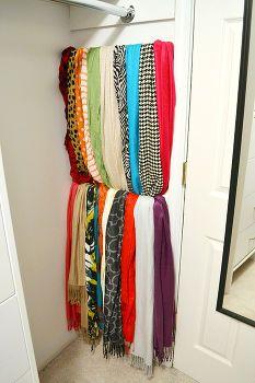 17 meilleures images propos de rangement organisation - Rangement pour foulard ...