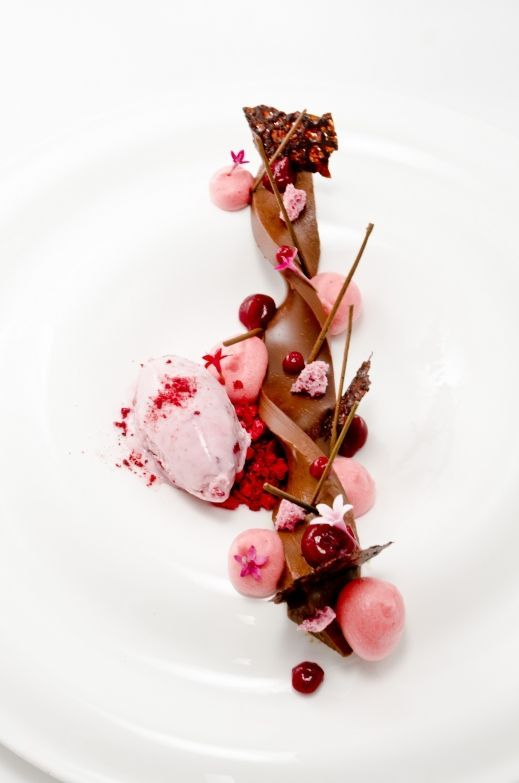 Jakub Hartlieb - The ChefsTalk Project  Beautiful for sakura dessert