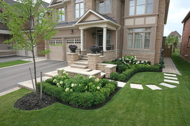Landscaping--How To Handle A Side Entrance