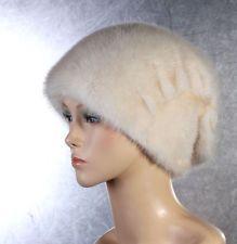VISONE da donna berretto Mink PELLICCIA BERRETTO Pelliccia Berretto Invernale Berretto Beanie cappuccio oversizemütze: EUR 189,95End Date:…