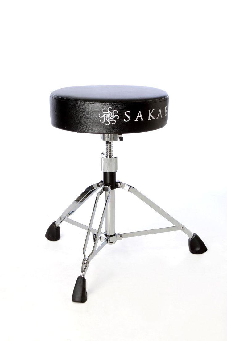 Sakae Drums DT-200DR Round Top Double Braced Drum Throne