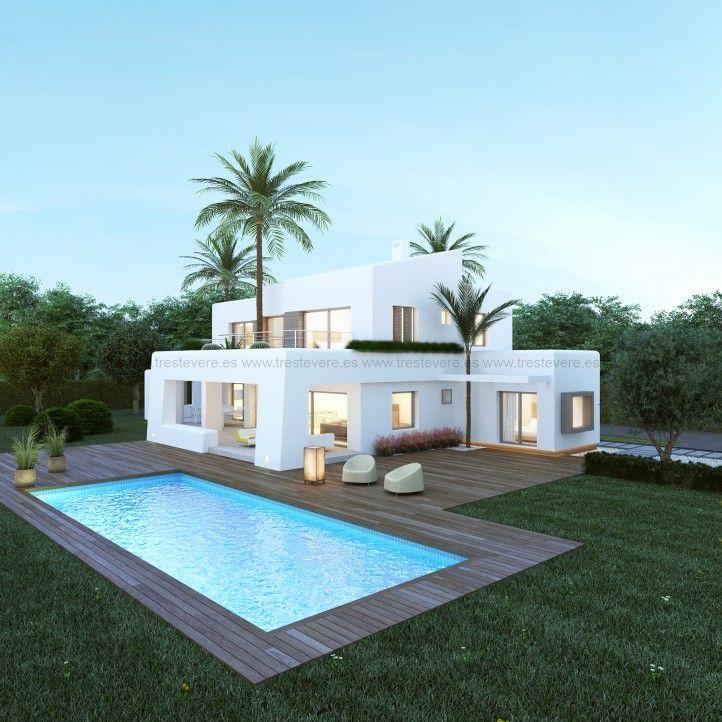 Las 25 mejores ideas sobre casas modernas en pinterest for Viviendas modernas de una planta