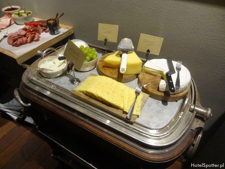 Radisson Blu Strand Hotel, Stockholm - sniadanie sery