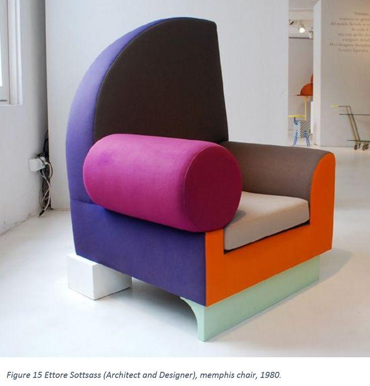 Figure 15 Ettore Sottsass (Architect and Designer), memphis chair, 1980.