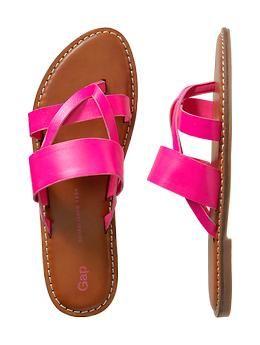 Multi-strap thong sandal | Gap