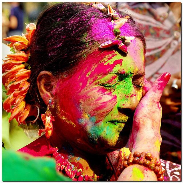 Holi - 'festival of colours' - India