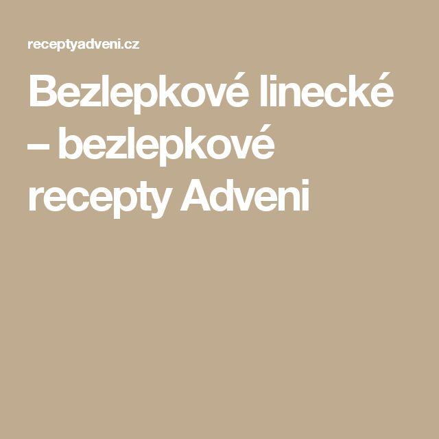 Bezlepkové linecké – bezlepkové recepty Adveni