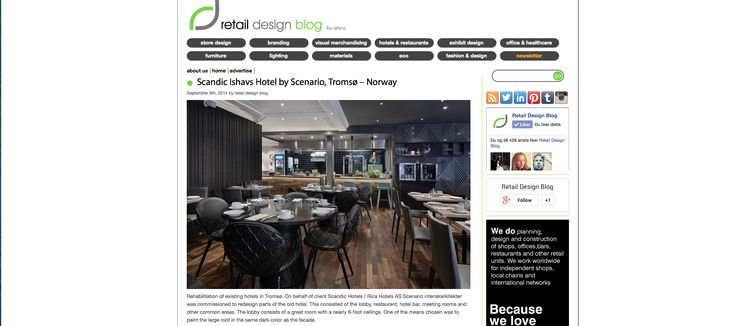 Check out the nice publication about the #hotel we just finish in #tromsø - #north of #norway