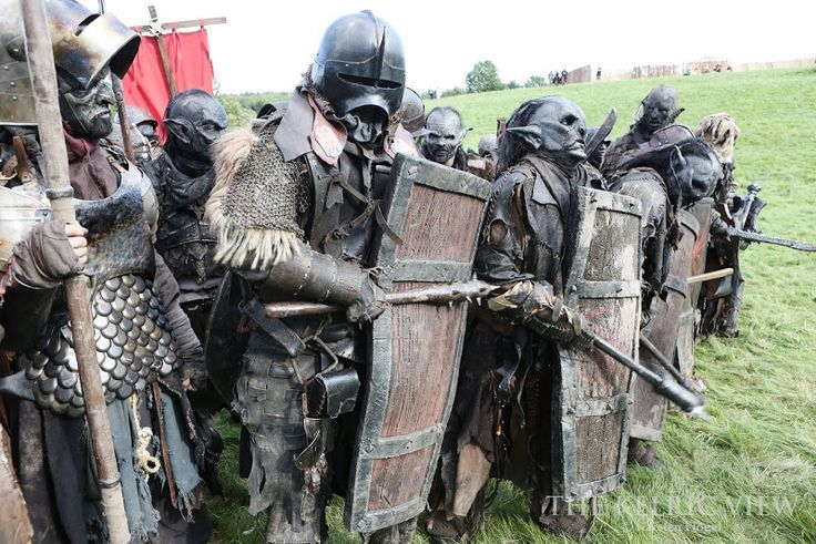 Motley band of Orks, probably at Drachenfest