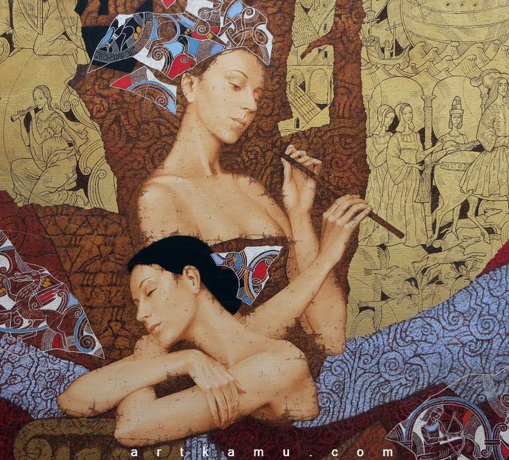 Sergey & Olga Kamu...   Kai Fine Art