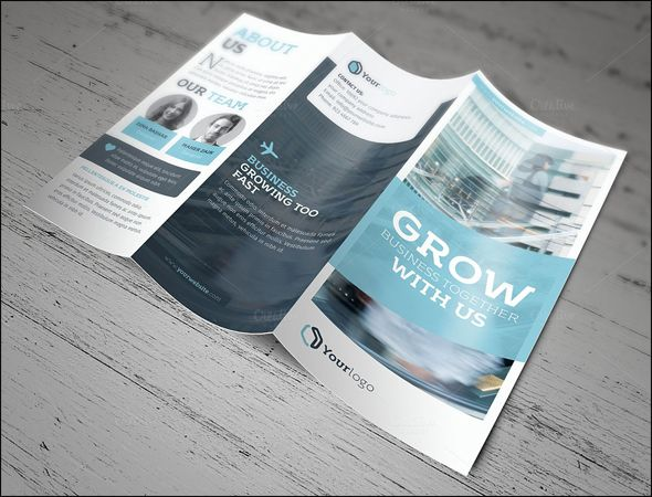 13 best Company brochure images on Pinterest Brochures - free tri fold brochure templates microsoft word