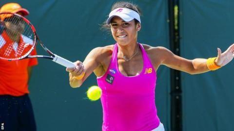 Miami Open: Heather Watson & Kyle Edmund progress