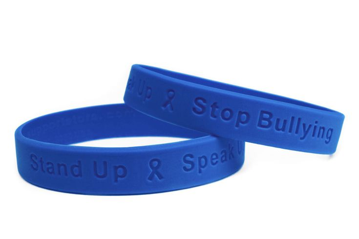 """Have you ever been bullied? Spread Awareness with custom wristbands """"Live and Let Live"""" """"Be a Buddy, Not a Bully"""" https://goo.gl/uD3j6v"""