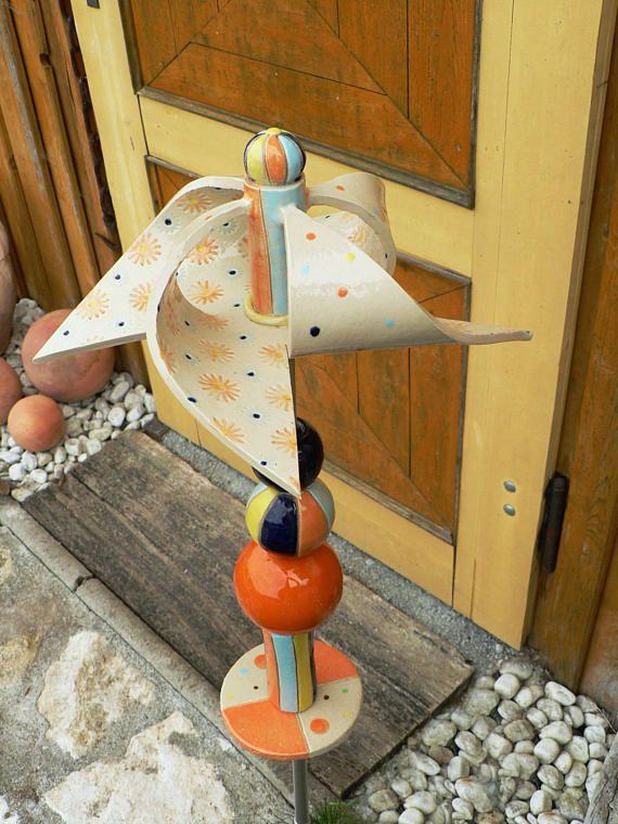 Awesome Handget pfertes Windrad cm mit eingebautem Kugellager Lieferung inkl Stab Keramikkugeln und Keramikscheibe